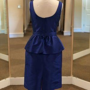 ALFRED SUNG Dresses - Short peplum cocktail dress